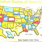 Us Maps With States For Kids New Us 50 State Map Practice Test New   Printable State Maps For Kids