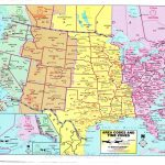 Us Time Zone Map Detailed   Maplewebandpc   Printable Time Zone Map Usa And Canada