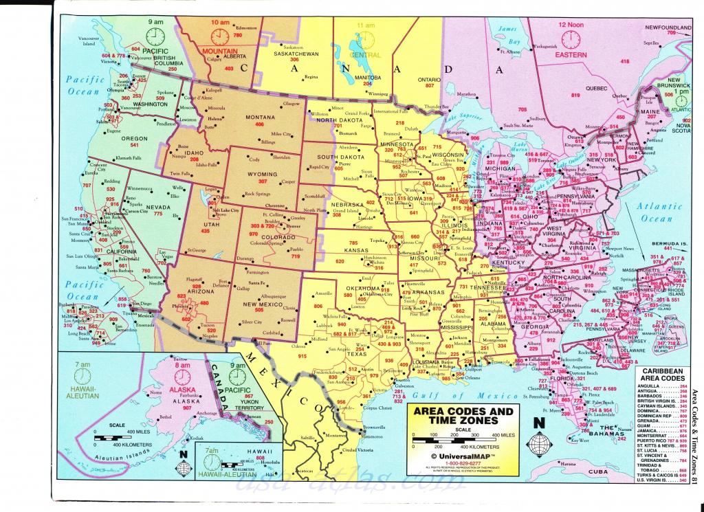 Us Time Zone Map Detailed - Maplewebandpc - Us Timezone Map Printable