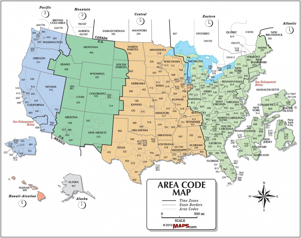 Us Time Zone Map With Cities Detailed North America Zones At New Of - Printable North America Time Zone Map