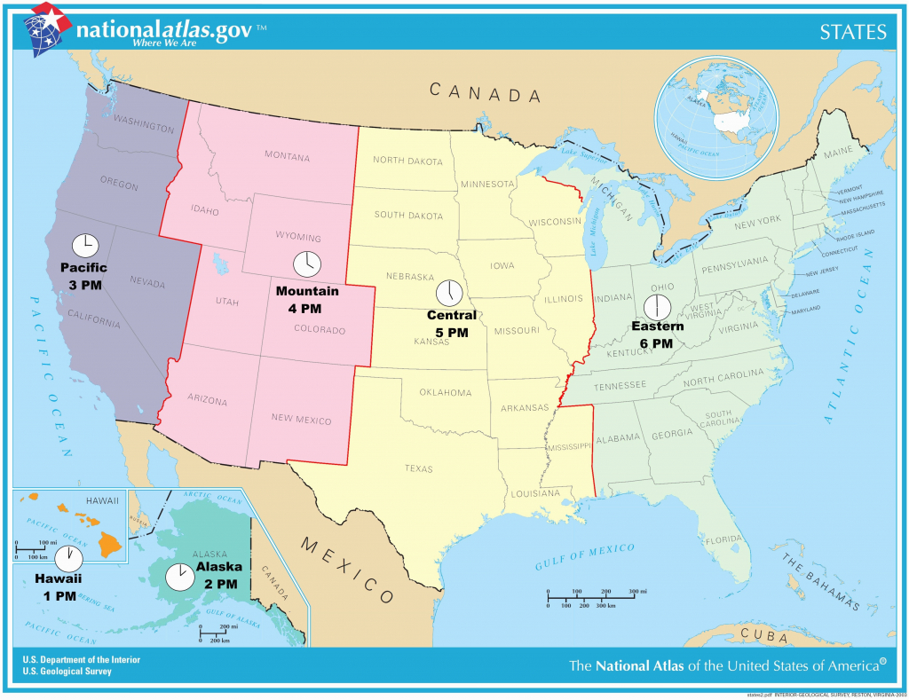Us Timezone Map With States Timezonemap Beautiful Time Zone Maps - Printable Us Timezone Map With State Names