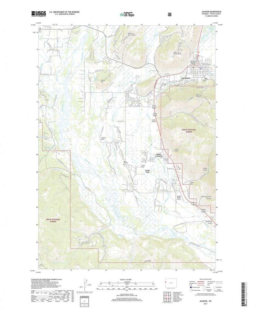 Us Topo: Maps For America - Printable Topographic Map Of The United States
