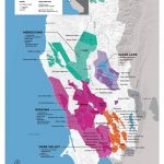 Usa: California, North Coast Wine Map In 2019 | Drinks | Wine Folly   California Wine Map Poster