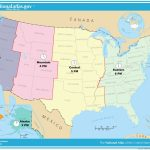 Usa Full Size Map   Hepsimaharet   Printable Time Zone Map Usa And Canada