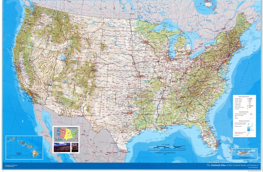 Usa Maps   Printable Maps Of Usa For Download - Large Usa Map Printable