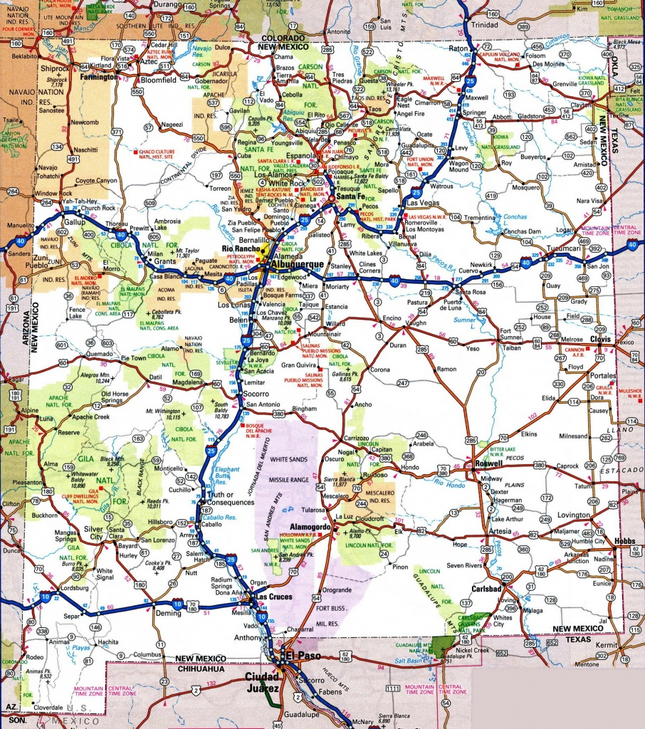 Usa Maps With Roads And Travel Information | Download Free Usa Maps - Free Printable State Road Maps