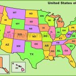 Usa State Abbreviations Map   Printable Map Of Usa With State Abbreviations