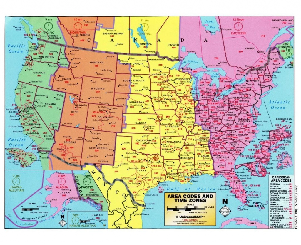 Usa Time Zone Map With States Cities Clock In And World Zones Inside - Printable Usa Map With States And Timezones