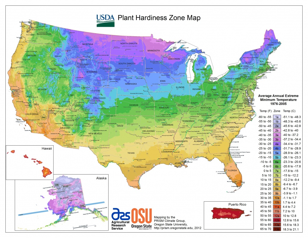 Usda Hardiness Zone Finder - Garden - Florida Growing Zones Map