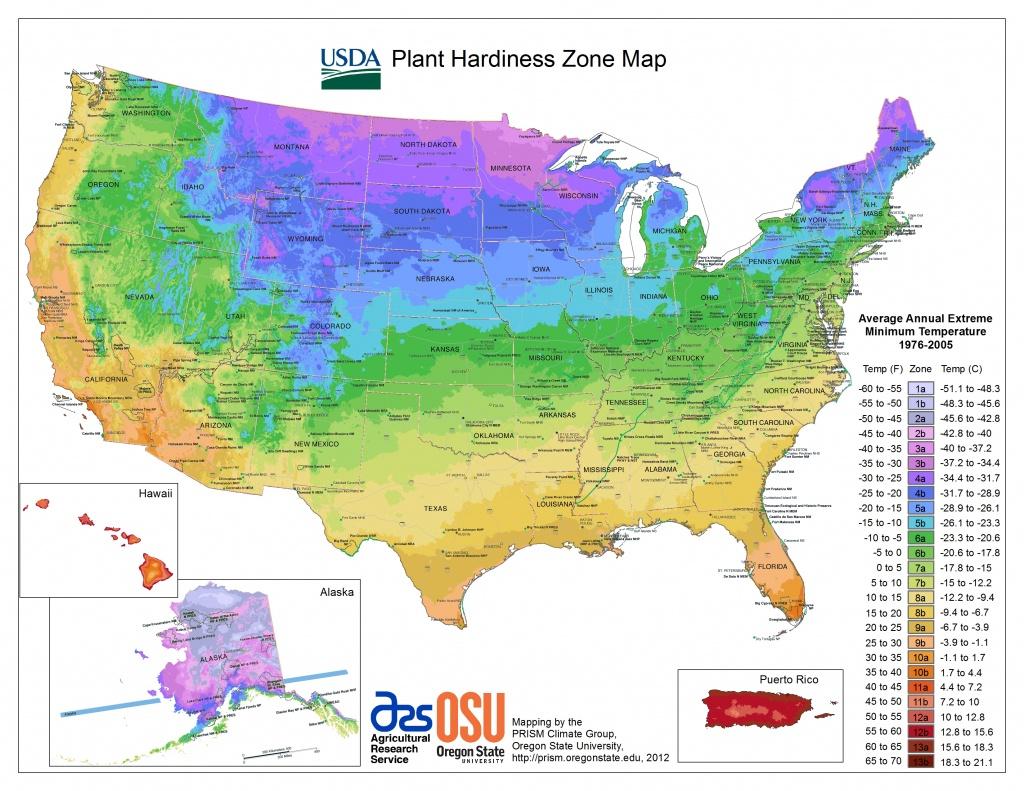 Usda Hardiness Zone Finder - Garden - Usda Zone Map California