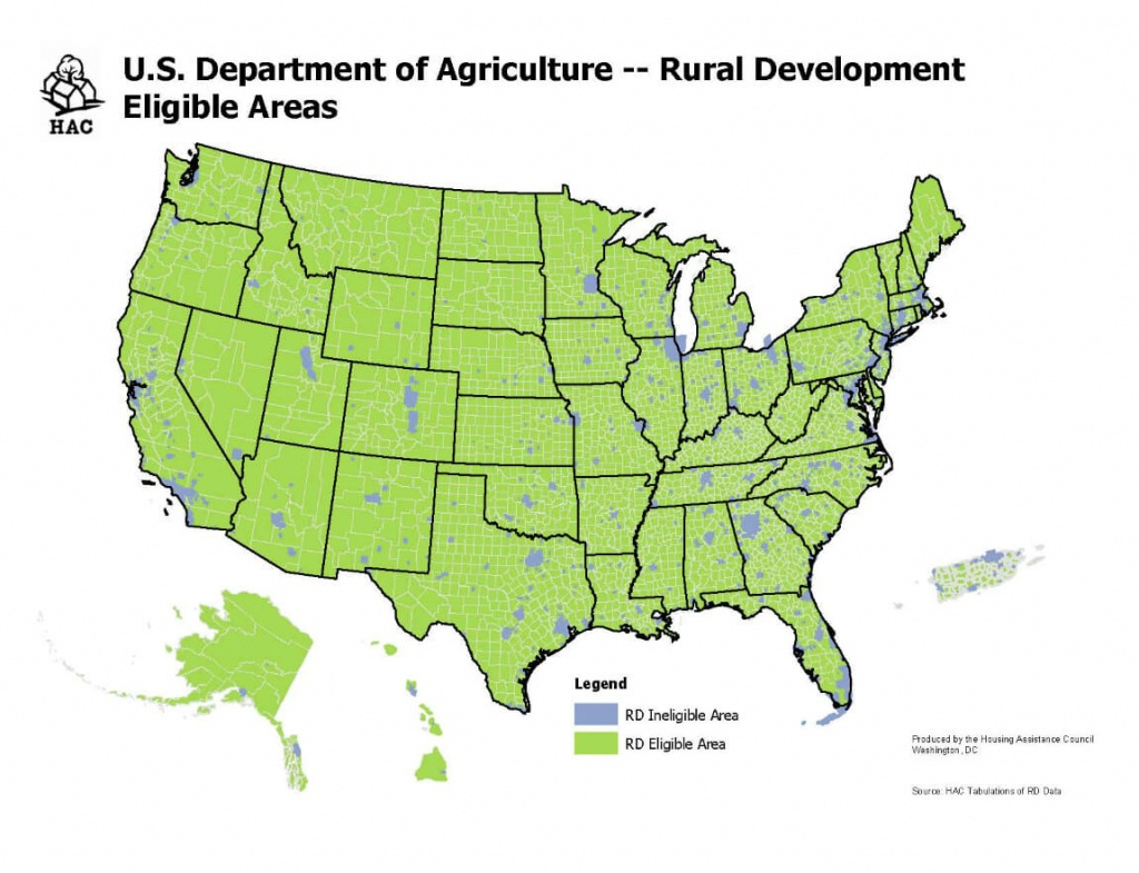 Usda Home Loan Requirements [Updated 2018]   The Lenders Network - Usda Map Florida
