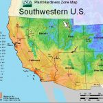 Usda Plant Hardiness Zone Mapsregion   California Heat Zone Map