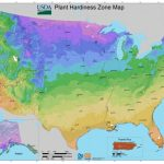 Usda Planting Zones For The U.s. And Canada | The Old Farmer's Almanac   Texas Planting Zones Map