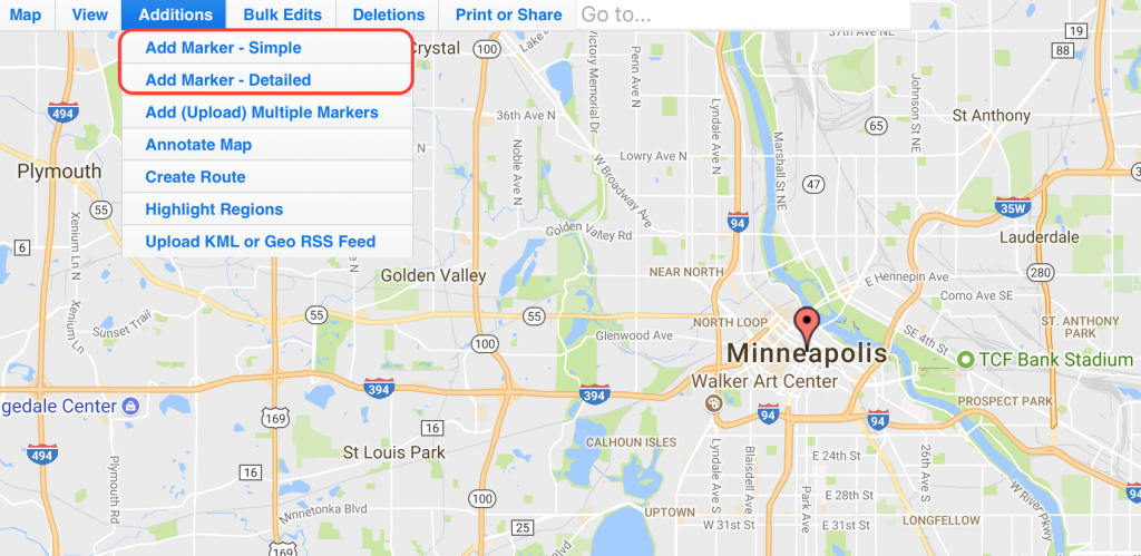 Use Map Maker To Add Locations On An Interactive Zeemaps Map - How To Create A Printable Map