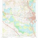 Usgs 1:24000 Scale Quadrangle For Leesburg West, Fl 1966   Leesburg Florida Map