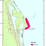 Usgs Data Series 957: Archive Of Bathymetry Data Collected At Cape – Port Canaveral Florida Map