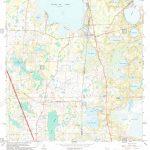 Usgs Topo Map Florida Fl Melrose 347452 1966 24000 Restoration Stock – Usgs Topographic Maps Florida