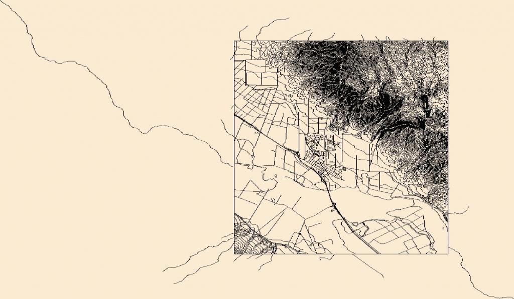 Usgs Topo Map Vector Data (Vector) 42022 Soledad, California - Soledad California Map