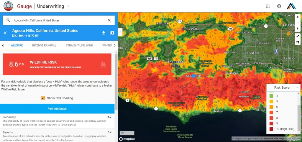 Using Wind Data To Understand The Most Destructive Wildfires In - California Wildfire Risk Map