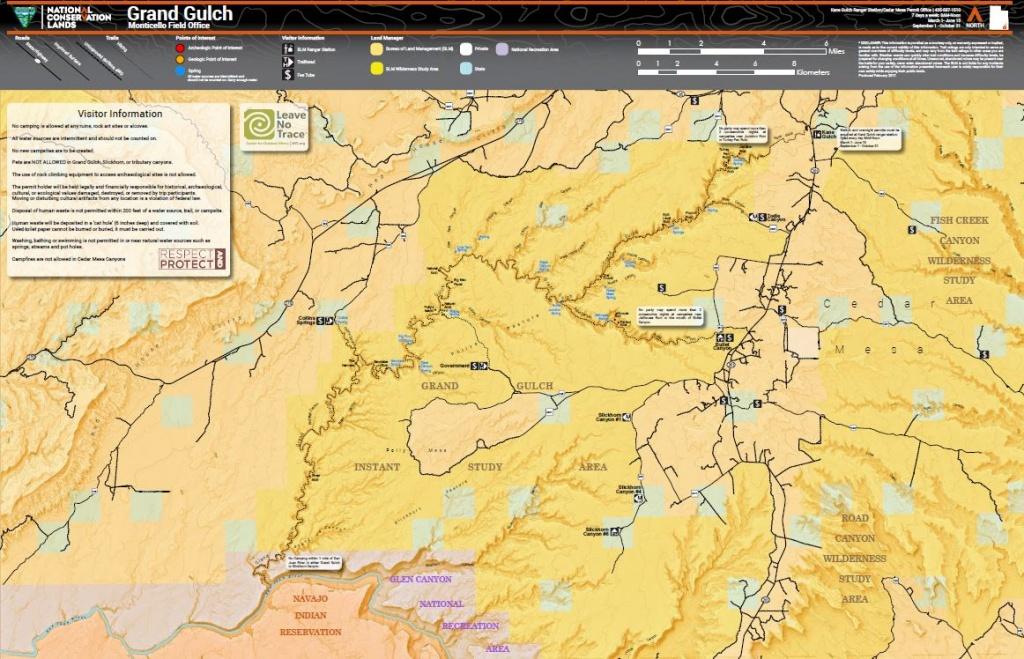 Utah - Maps   Bureau Of Land Management - Blm Land Map Southern California