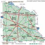 Van Zandt County | The Handbook Of Texas Online| Texas State   Canton Texas Map