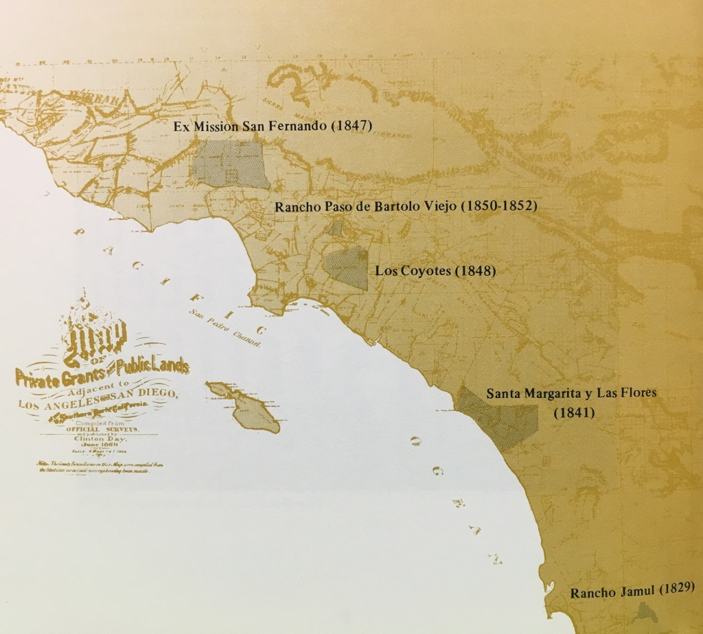 Vast Swaths Of Southern California Once Belonged To Pío Pico | Kcet - Bears In California Map