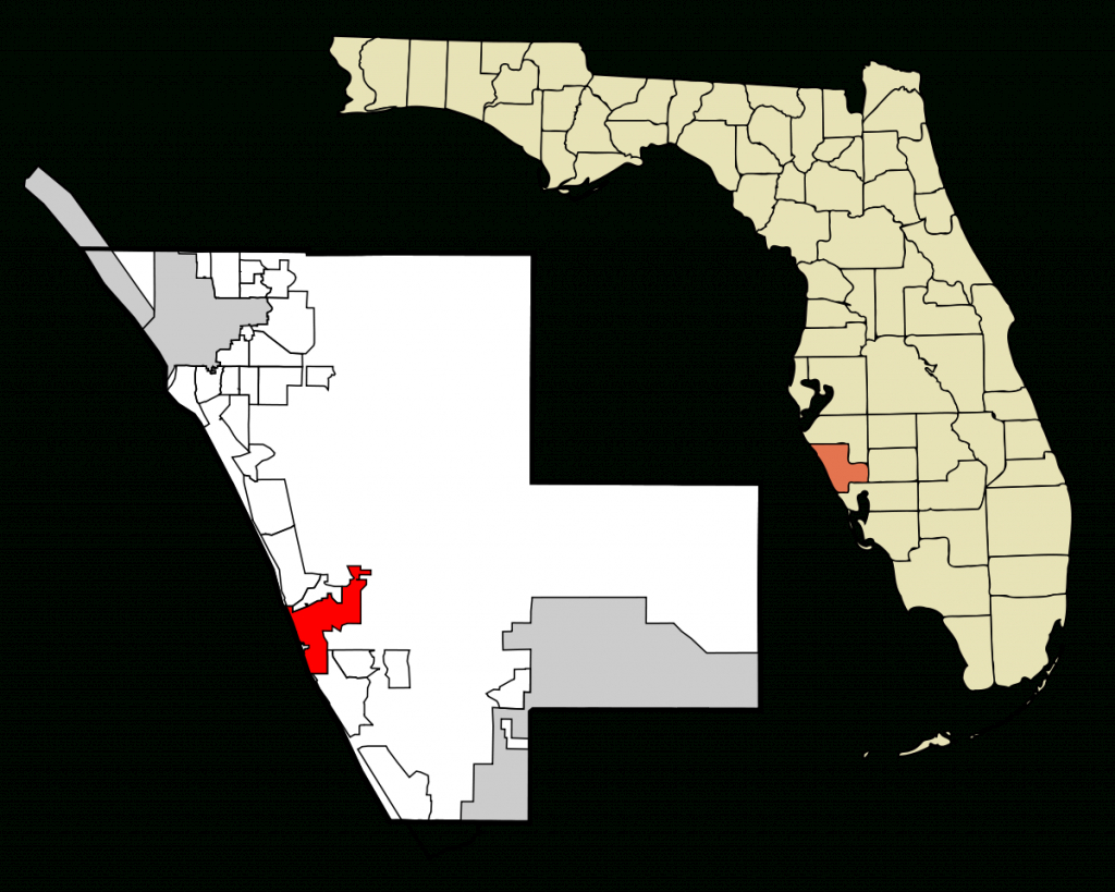 Venice, Florida - Wikipedia - Map Of South Venice Florida