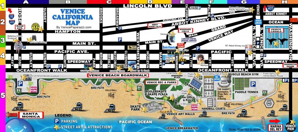 Venice-Map   La In 2019   Venice California, Venice Beach Florida - Venice Beach California Map