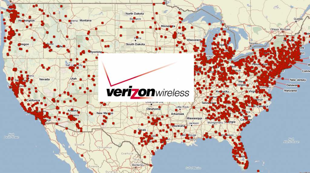 Verizon Wireless Plans And Coverage Review - Verizon Lte Coverage Map California