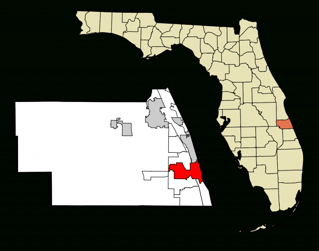 Vero Beach, Florida - Wikipedia - Vero Beach Fl Map Of Florida
