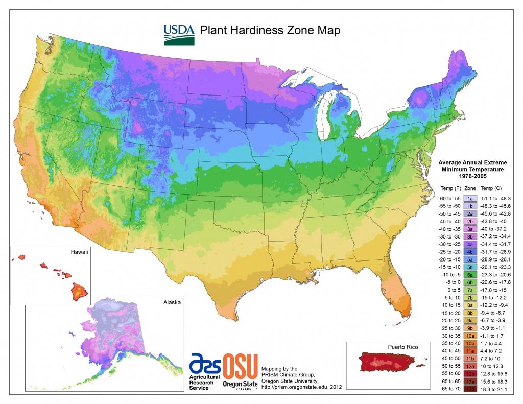 View Maps | Usda Plant Hardiness Zone Map - California Heat Zone Map