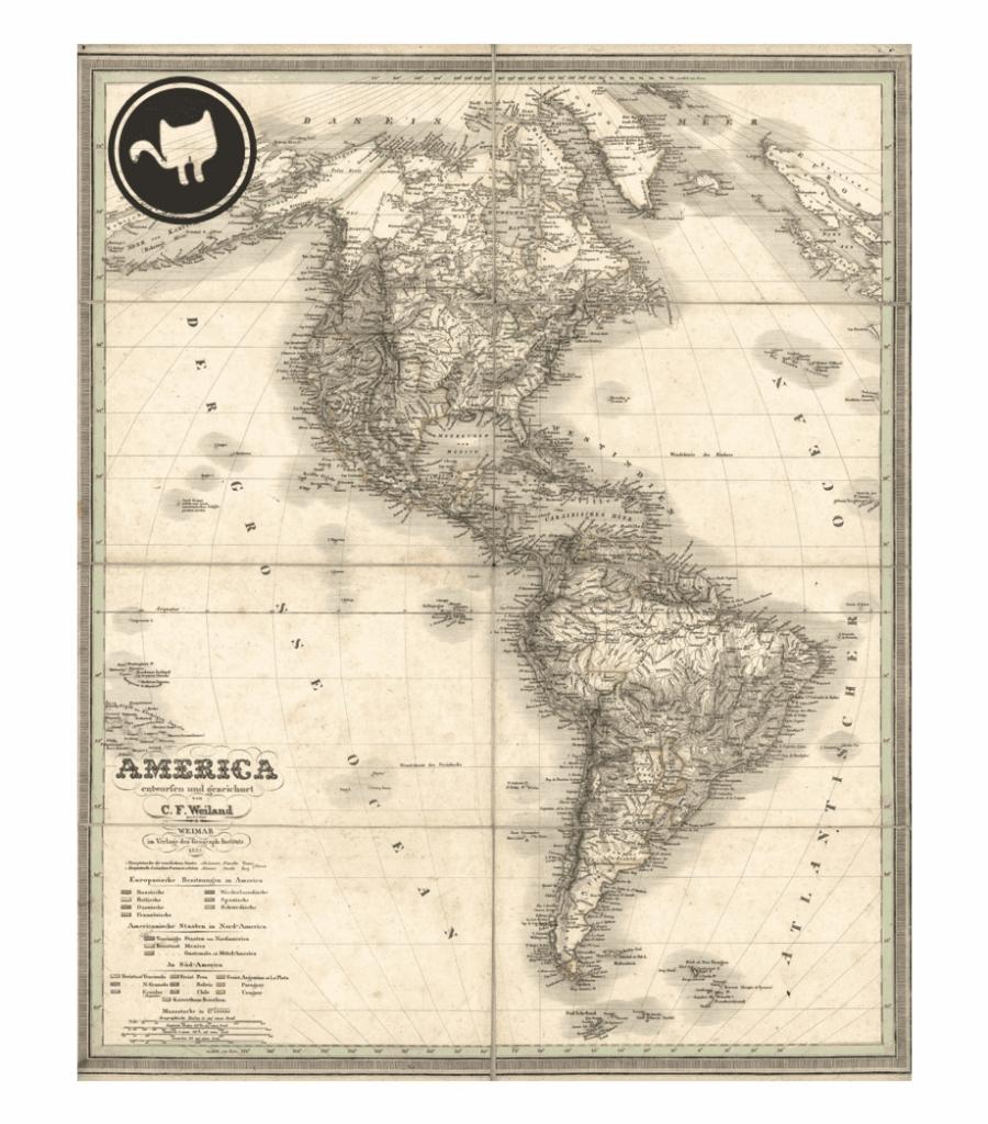 Vintage Maps Printable, Transparent Png Download For Free #168486 - Free Printable Vintage Maps