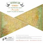 Vintage Printables   St. Patrick's Day   Flags   Buntings   Stickers   Printable Map Banner