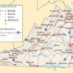 Virginia Highway Map   Printable Map Of Virginia