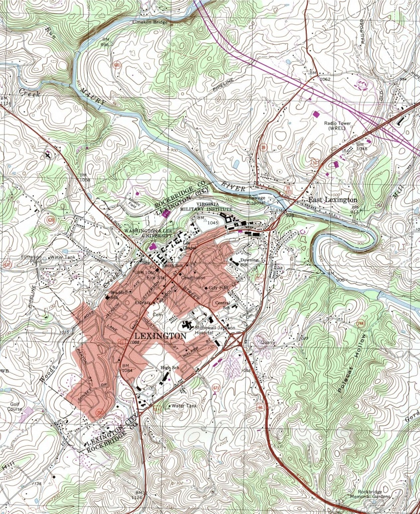 Virginia Maps - Perry-Castañeda Map Collection - Ut Library Online - Printable Map Of Richmond Va