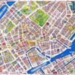 Virtual Interactive 3D Copenhagen Denmark City Center Free Printable   Printable Tourist Map Of Copenhagen