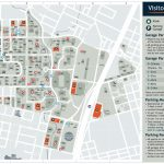 Visitor's Map | Parking & Transportation | The University Of Texas   Printable Map Of Austin