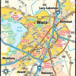 Waco Map And Travel Information | Download Free Waco Map   Map Of Waco Texas And Surrounding Area