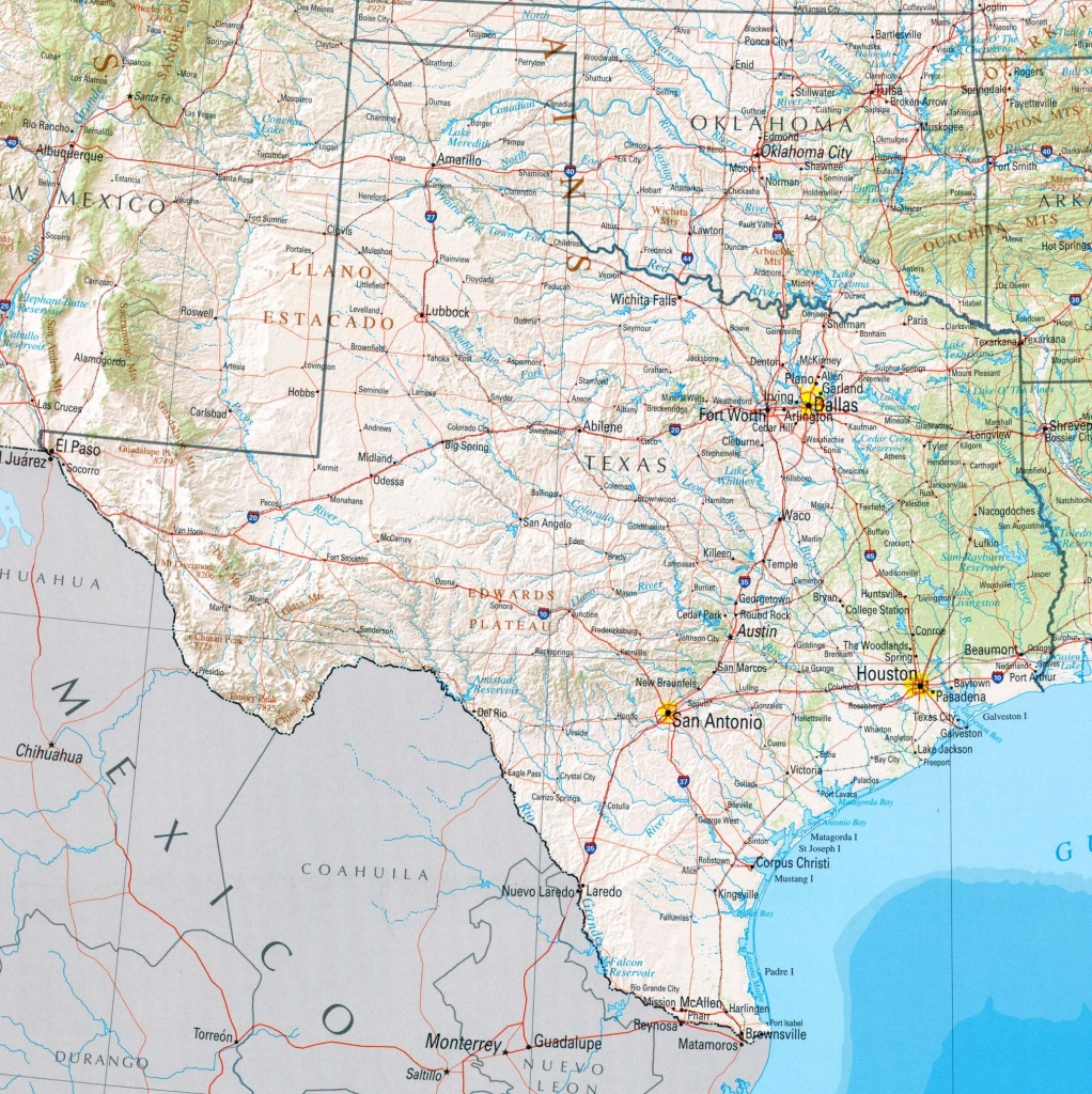 Wallpaper Maps Of Usa (48+ Images) - Texas Map Wallpaper
