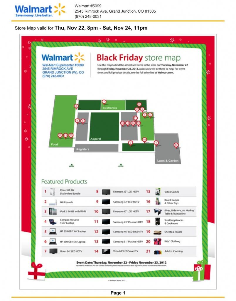 Walmart Black Friday Store Map - Printable Walmart Black Friday Map