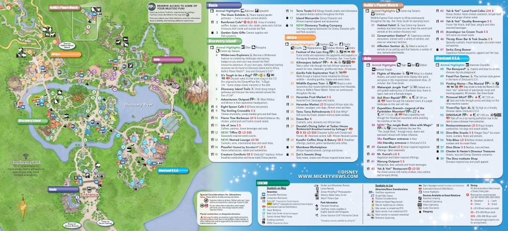 Walt Disney World Maps - Disney Florida Maps 2018