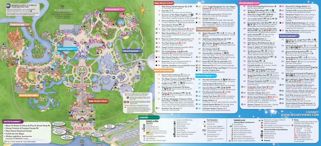 Walt Disney World Maps - Disney World Florida Map 2018