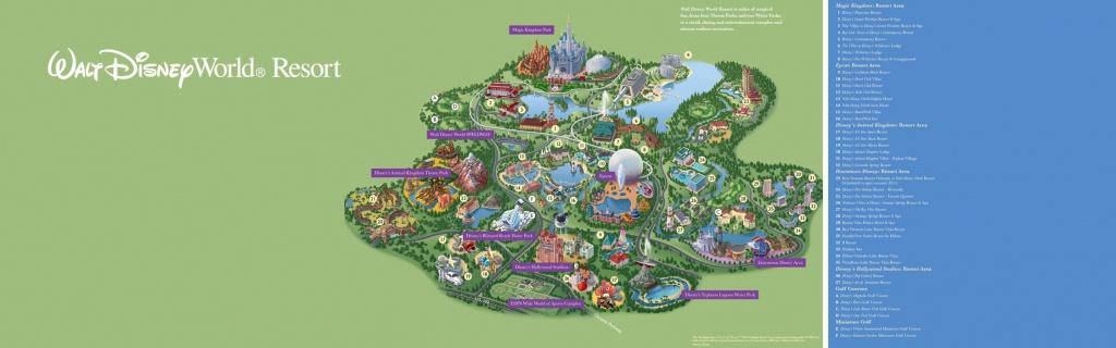 Walt Disney World® Resort Map- Wyndham Lake Buena Vista - Hotel Near - Map Of Downtown Disney Orlando Florida