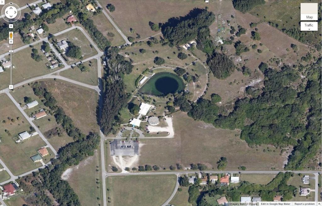 Warm Mineral Springs | Gator Preservationist - Warm Mineral Springs Florida Map