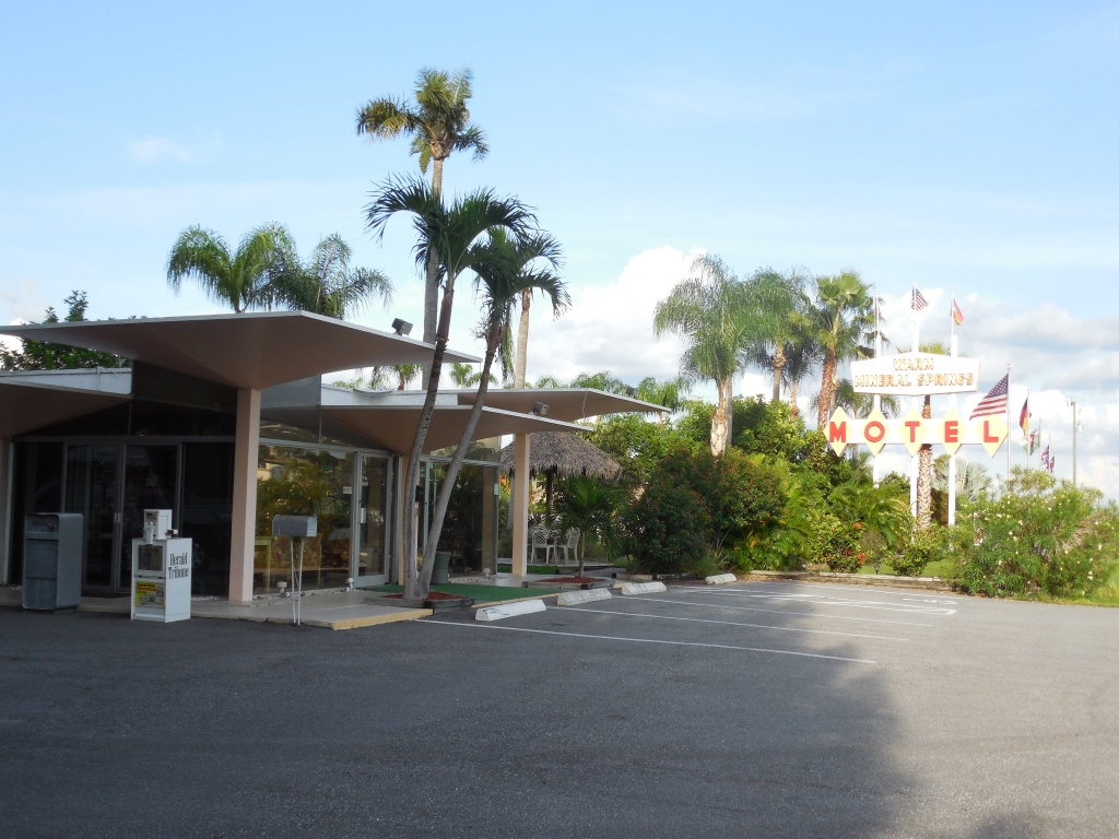 Warm Mineral Springs Motel - Wikipedia - Warm Mineral Springs Florida Map