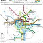 Washington, D.c. Metro Map   Printable Metro Map