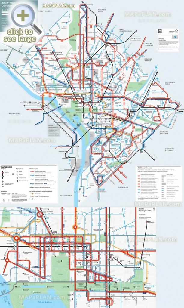 Washington Dc Maps - Top Tourist Attractions - Free, Printable City - Free Printable Map Of Washington Dc
