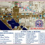 Washington Dc Tourist Map | Tours & Attractions | Dc Walkabout   Printable Map Of Washington Dc