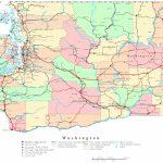 Washington Printable Map   Washington State Counties Map Printable