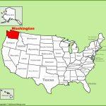 Washington State Maps | Usa | Maps Of Washington (Wa)   Washington State Counties Map Printable